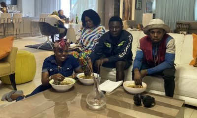 Nana Aba Anamoah Dines With Hawker Friends As They Share Stories Of Their Life Struggles