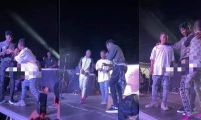 Stonebwoy introduces two new young musicians at Bhim Fridays concert