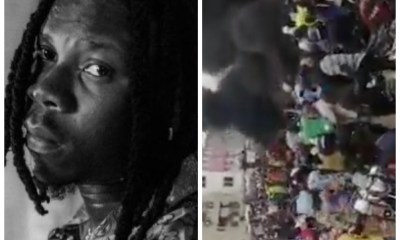, Stonebwoy calls for peace amidst protest in Ashaiman over presidential results, Frederick Nuetei