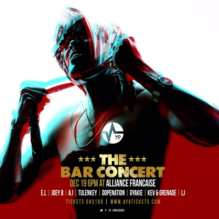 bar concert, EL set to hold his 5th edition of the Bar Concert, Frederick Nuetei