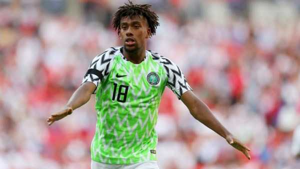 , Alex Iwobi ruled out of Super Eagles camp after testing positive for COVID-19, Frederick Nuetei