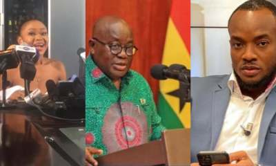 , The President must come out and explain what he did in Akuapem Poloo's case – Halifax Ansah-Addo, Frederick Nuetei