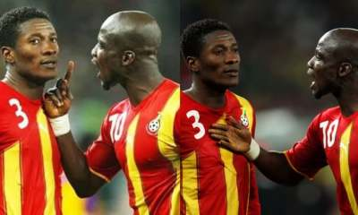 , Stephen Appiah has released a list of his best Ghanaian football stars; excludes Asamoah Gyan, Frederick Nuetei
