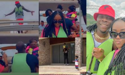 , Stonebwoy goes on weekend vacation with family and team; Lovely videos and photos drop, Frederick Nuetei