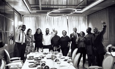 , Photos: Family and friends held a surprise birthday party for Sarkodie, Frederick Nuetei