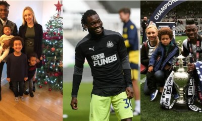 , Christian Atsu speaks about his lovely wife and family, Frederick Nuetei