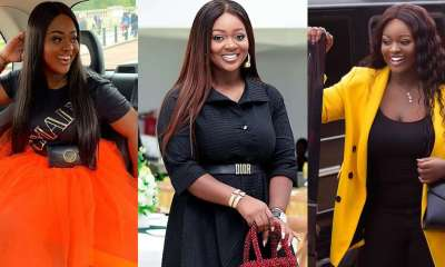 , Jackie Appiah: Actress gets Nana Ama McBrown, fans talking with her pink fashion in new photo, Frederick Nuetei