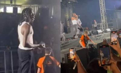 , Stonebwoy wowed audience at YAM festival with his performance in London, Frederick Nuetei