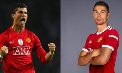, Manchester United announces re-signing of Cristiano Ronaldo, Frederick Nuetei