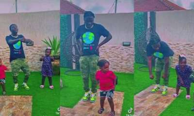 , Stonebwoy and kids wow social media with formation dance in video, Frederick Nuetei