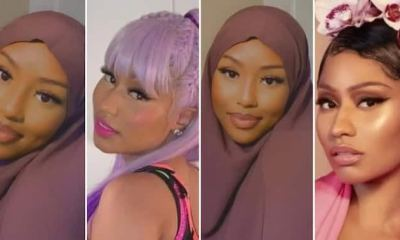 , Nicki Minaj thanks fans for supporting her new song, Frederick Nuetei
