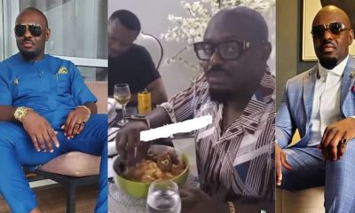 , Jim Iyke: Nigerian actor gets Ghanaians laughing with video of him struggling to eat fufu, Frederick Nuetei