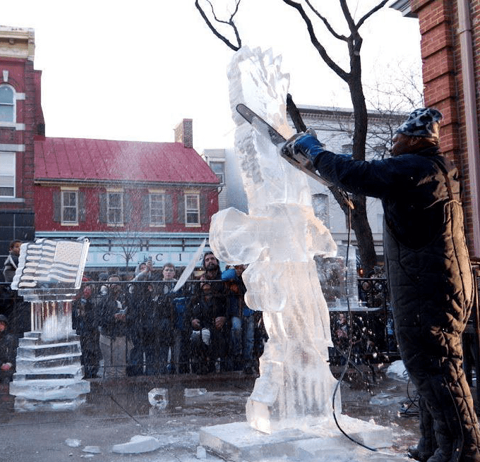 The Best Annual Festivals In Frederick, Maryland, Fire in Ice Frederick