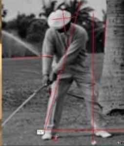 Ben Hogan's take away golf swing