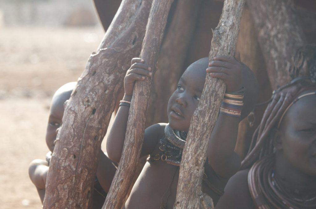 Visiting the Himba's in Namibia
