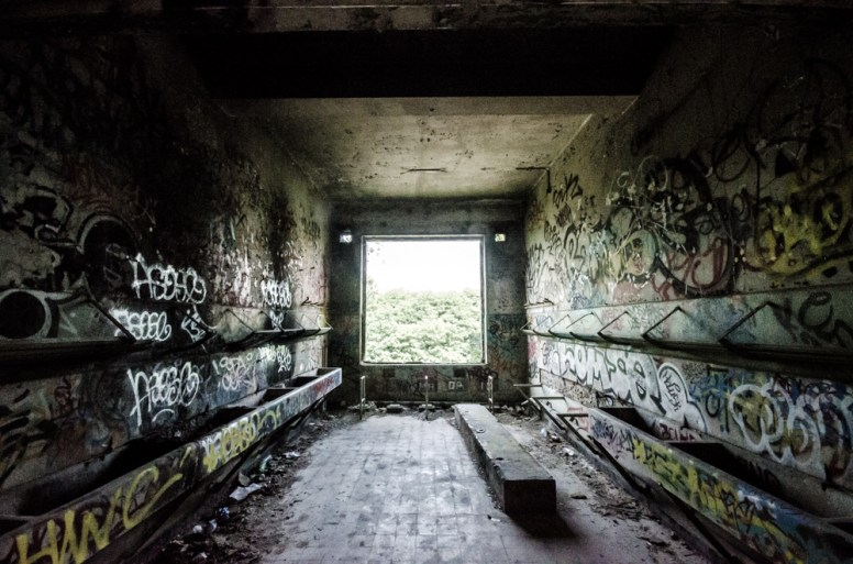Fort de la Chartreuse wasbakken