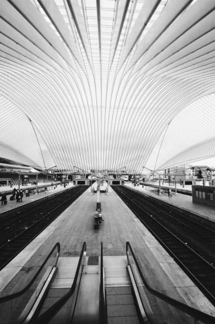 Liege Guillemins architectuur