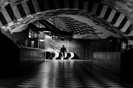 Kunstradgarden subway - Stockholm, Sweden