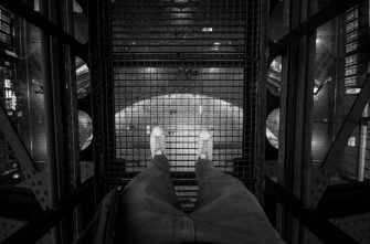 Don't look down - Antwerp Central Station