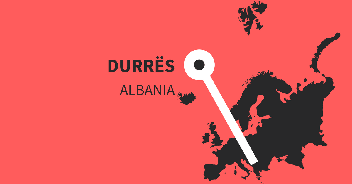 Must visit and important Instagram hashtags for Durrës in Albania