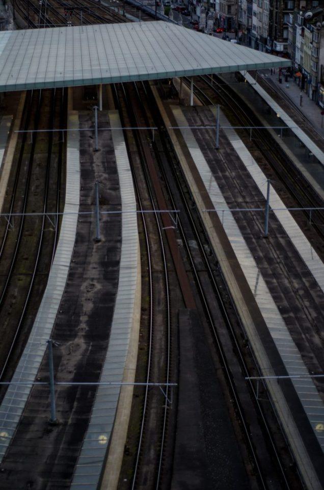 Tracks - Antwerp Central Station