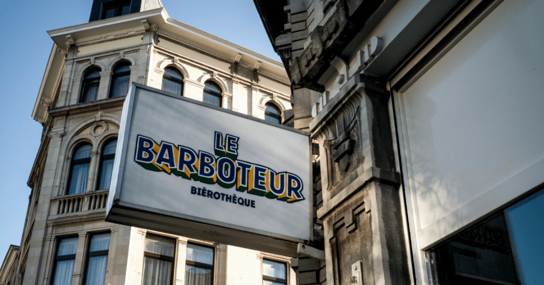 How to taste beers at bierotheque Le Barboteur in Brussels