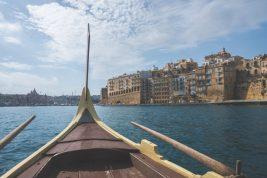Dghajsa to three cities malta