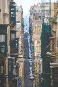 Streets of romantic Valetta