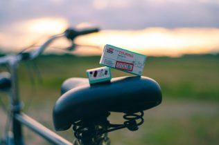 Tire fixing kit for bike - Bike trip checklist