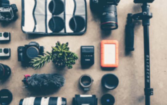 What photography gear do I use when traveling?