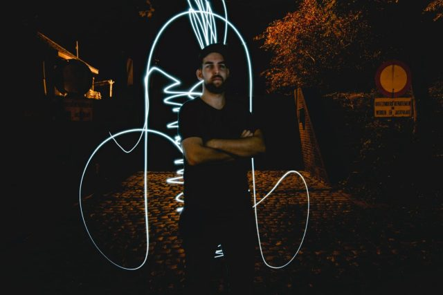 light painting photography portrait dick