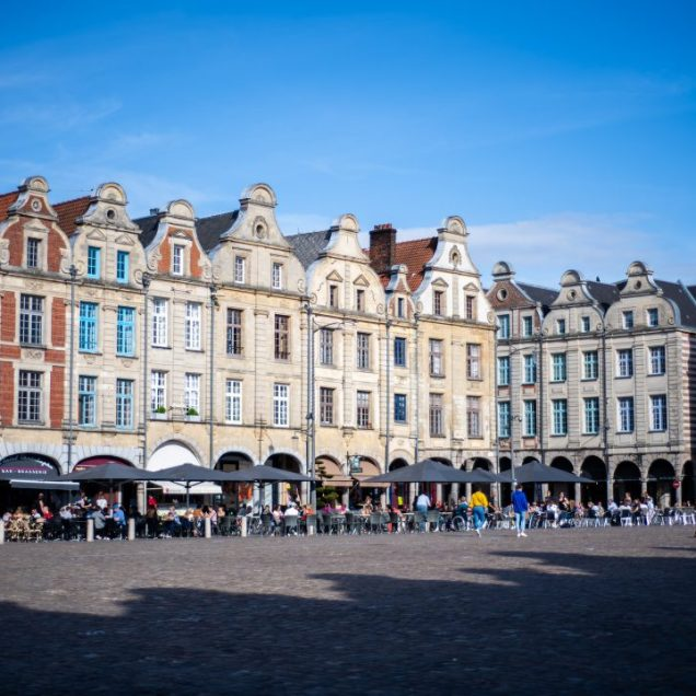 Place des heros in Arras