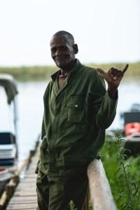 Boston our guide in Okavango Delta