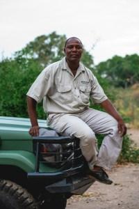 Ghali our guide in Okavanago Delta