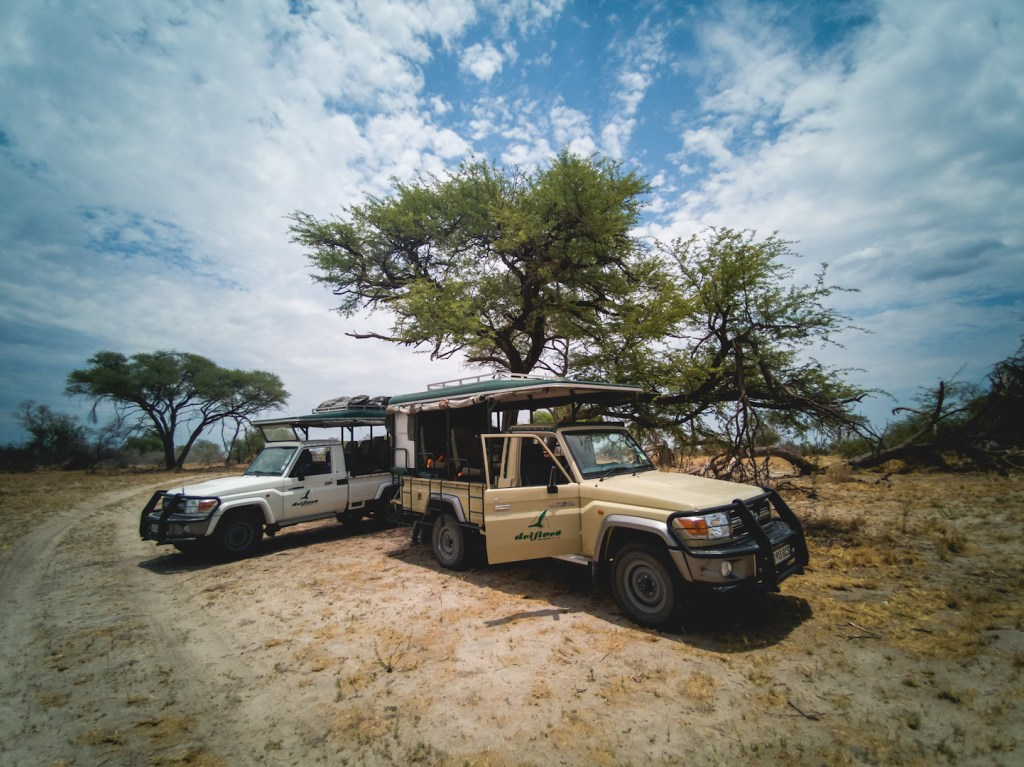 Our safari game drive cars