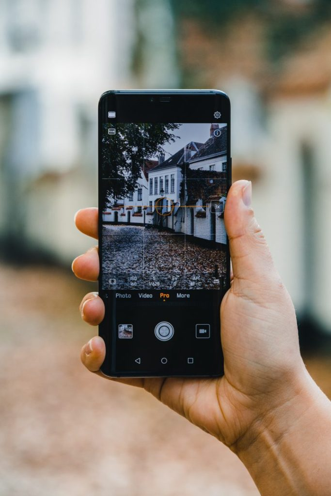 Doing smartphone photography with the rule of thirds