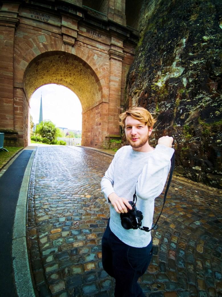 Photographing at Schlassbréck