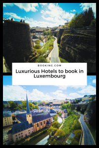 luxury hotels Luxembourg