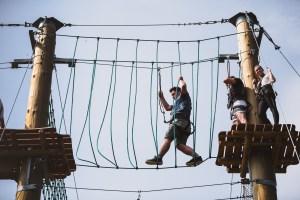 Adventure park Xanten in Nordrhein Westfalen with Vetexbart