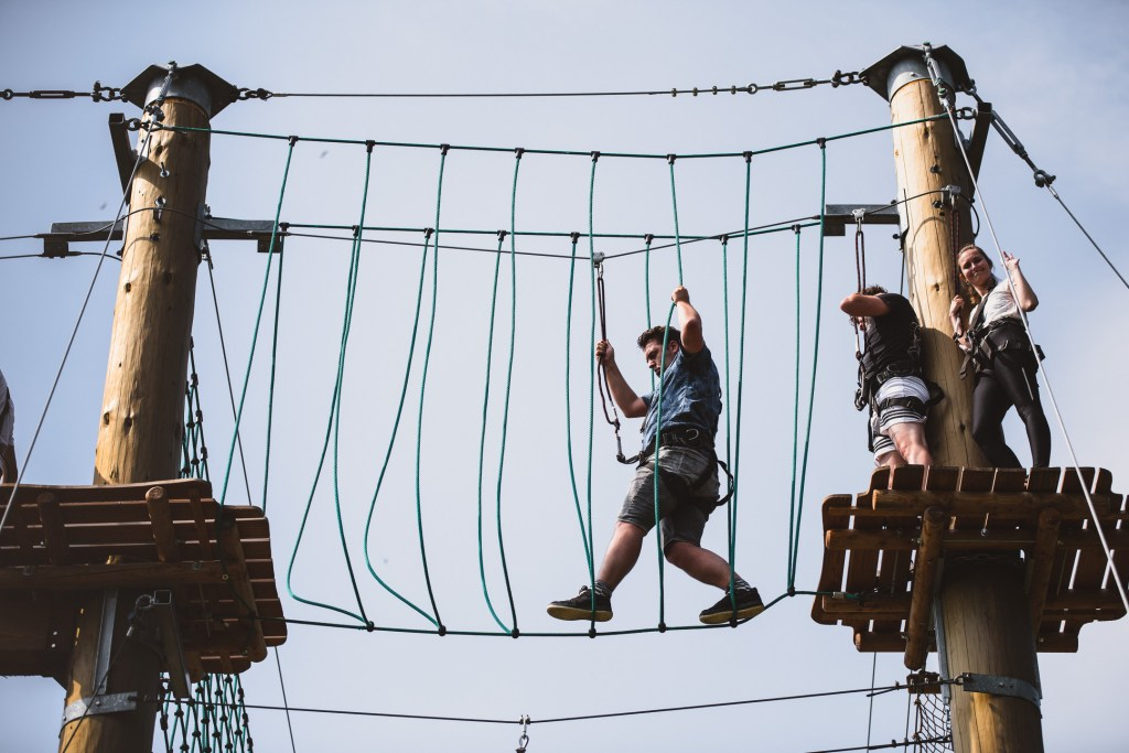 Adventure park Xanten in Nordrhein Westfalen with Vetexbart