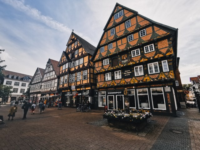 celle, where architecture styles meet