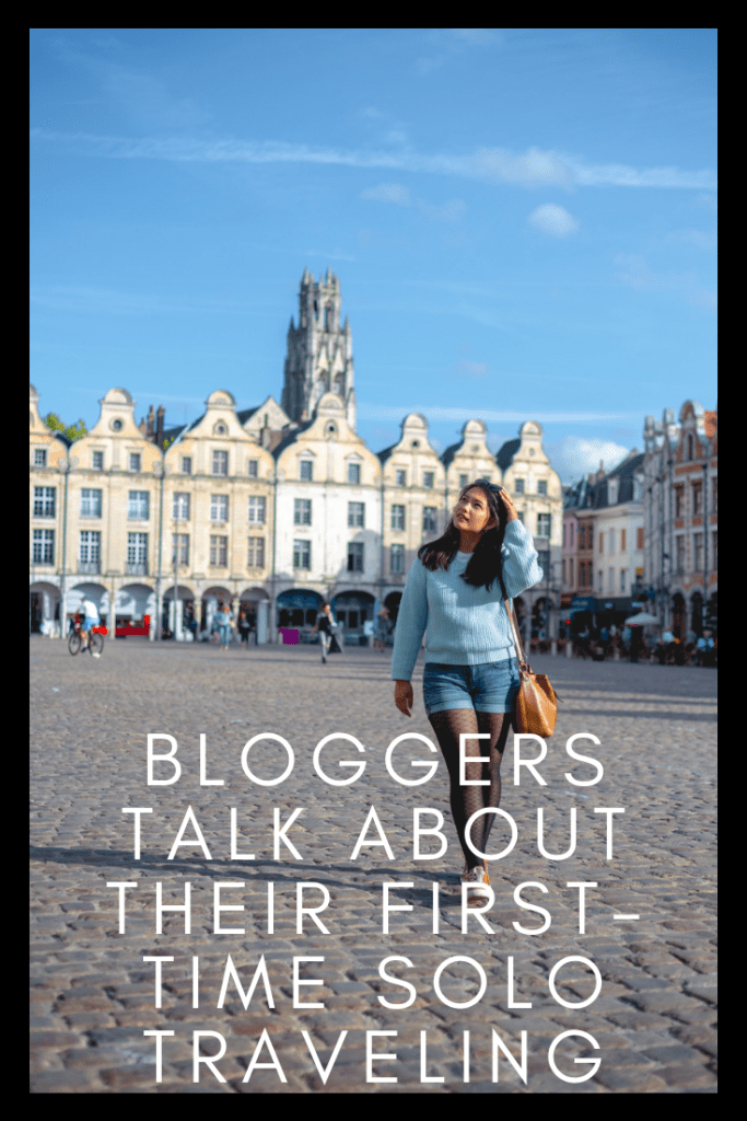 Bloggers talk about first-time solo traveling