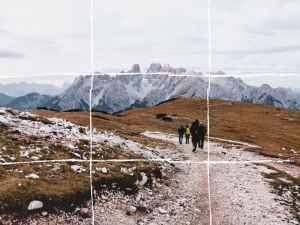 travel photography rule of thirds