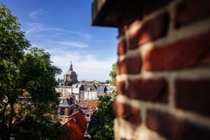 View from the Burcht in Leiden