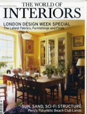 THE WORLD OF INTERIORS March 2015