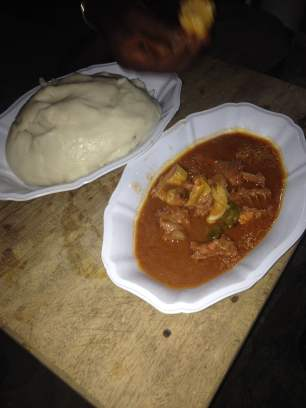 mouton and fufu