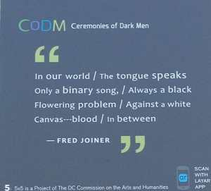 excerpt of Seven Ways of Looking at Black Flowers By Fred Joiner