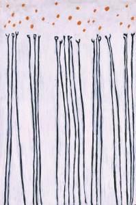 GENE DAVIS (1920–1985)  Black Flowers, 1952