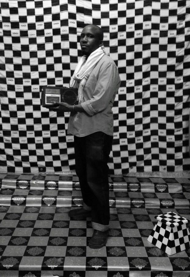 Me @ Studio Sidibe, The studio of renowned Malian photogrpaher, Malick Sidibe.