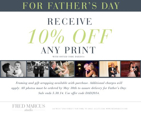 Father's Day Promotion   Fred Marcus Studio